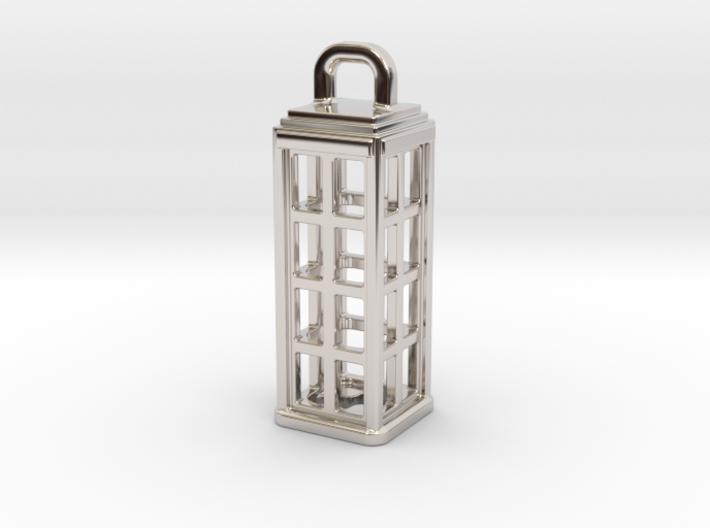 Tardis Lantern 1: Tritium (All Materials) 3d printed