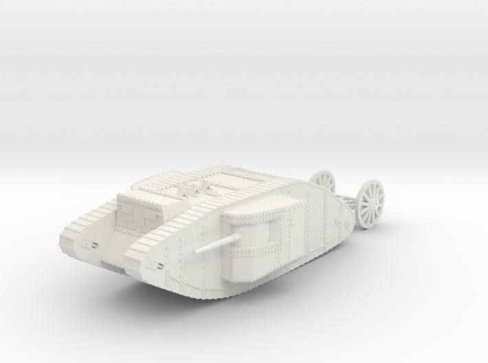 1/120 WW1 Tank Mark1 Male 3d printed