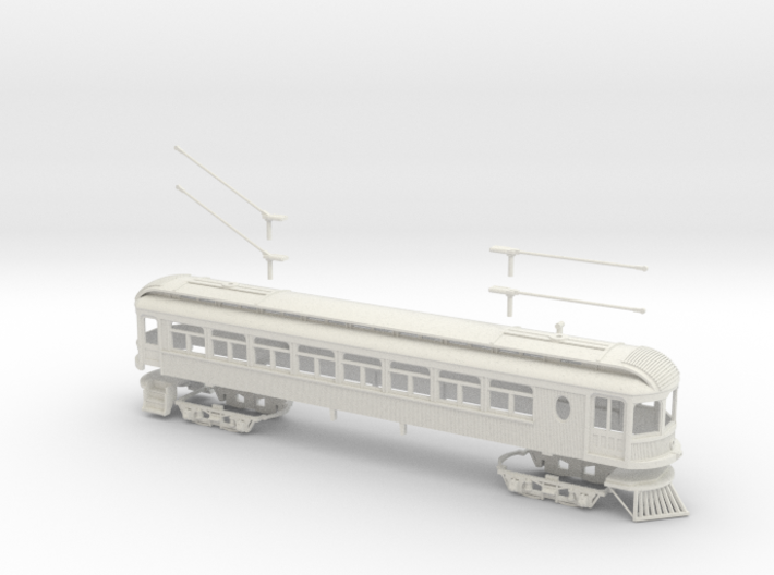 #64-6101 - Ohio Electric Combine S scale Kit 3d printed