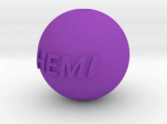 KEY CHAIN - HEMI 3d printed