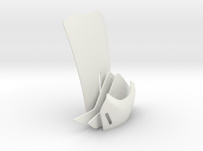Part 3/3_Tron Legacy Quorras Helmet 3d printed