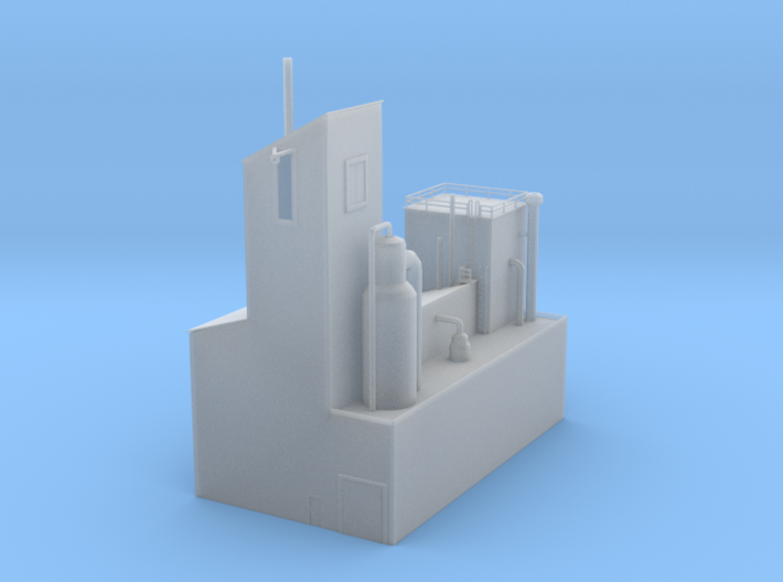 Paper Mill Building 2 3d printed