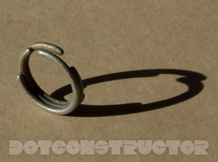 Stagger Ring - Size 6.5 3d printed