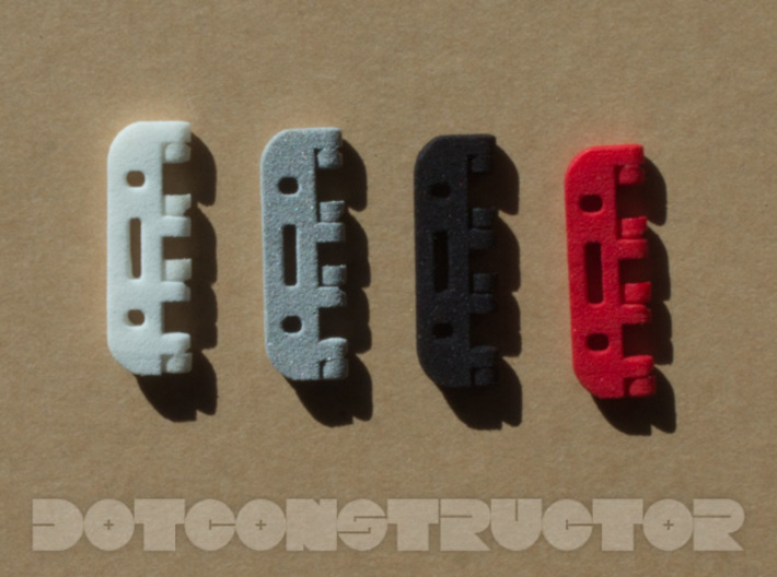 Snap Together 27mm x 15mm Micro Hinge 3d printed