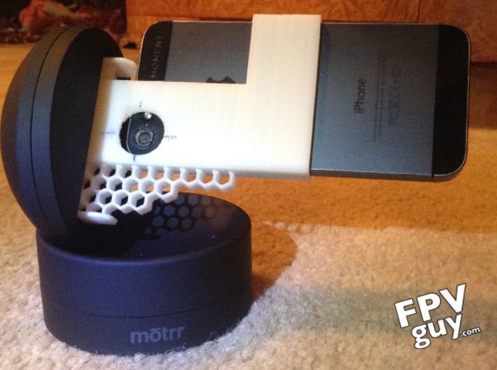 Motrr Galileo iPhone 5 & 5s  panorama nodal point  3d printed Prototype 4