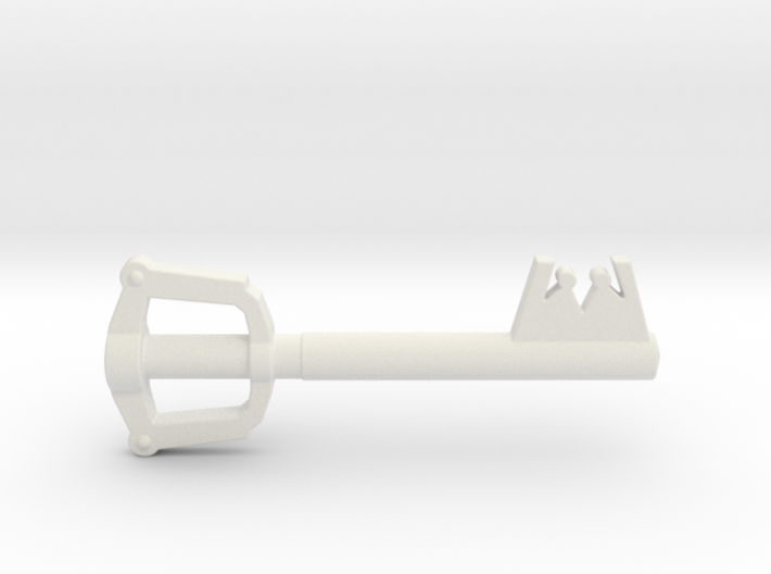 Keyblade 3d printed Painted Frosted Ultra Detail