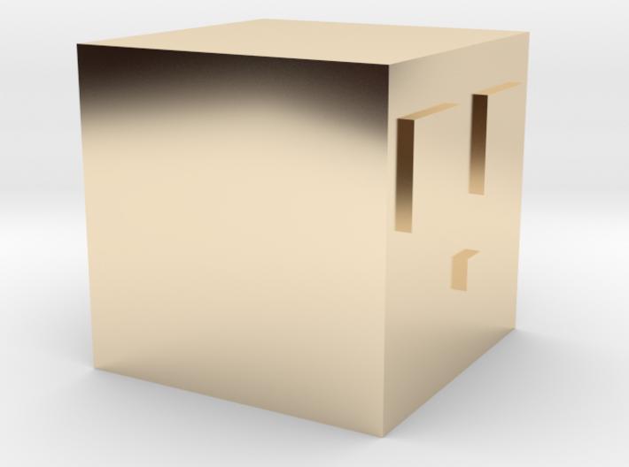 Minecraft Slime 3d printed
