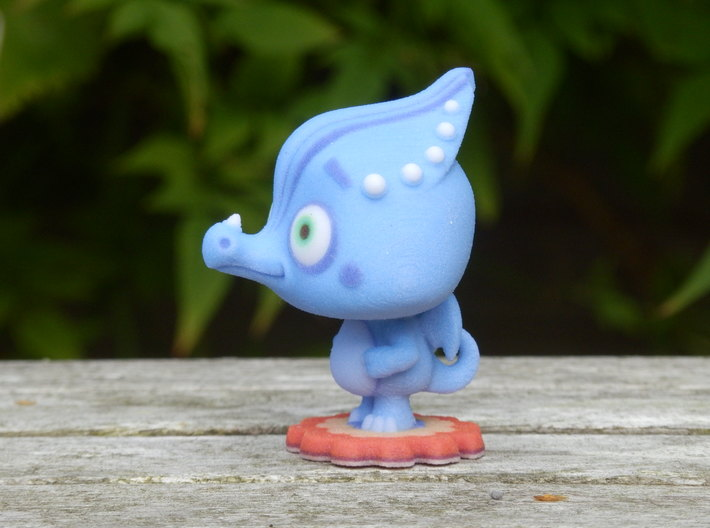 Harper the Ice Dragon 3d printed