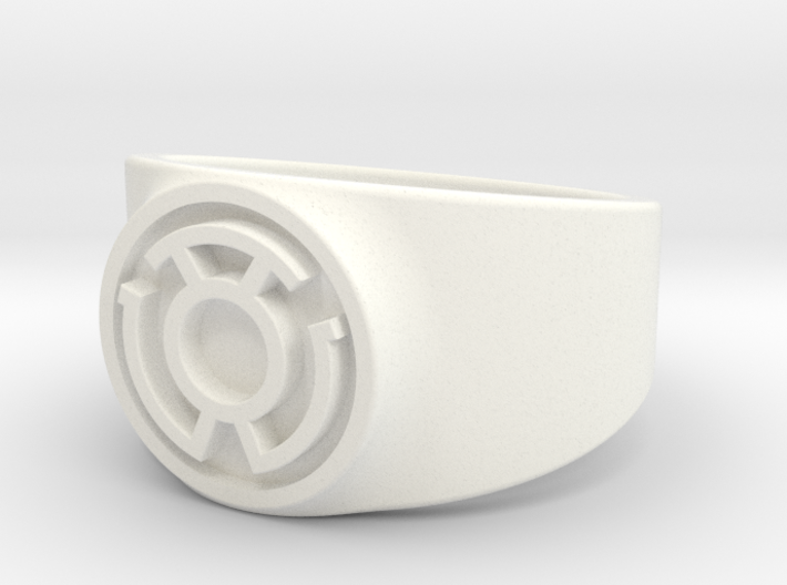 Sinestro Yellow Fear GL Ring Sz 15 3d printed