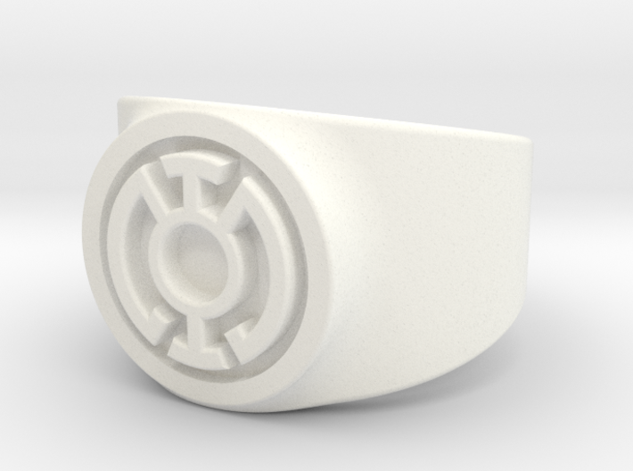 Blue Hope GL Ring Sz 10 3d printed