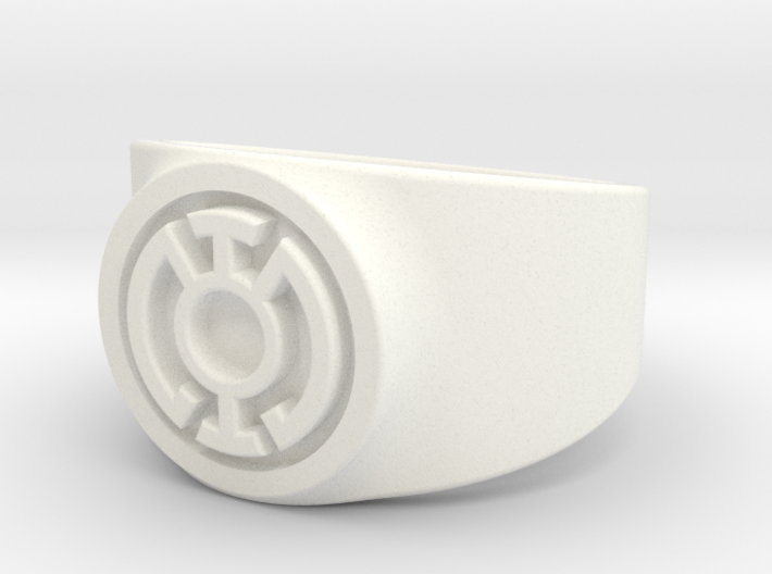 Blue Hope GL Ring Sz 13 3d printed