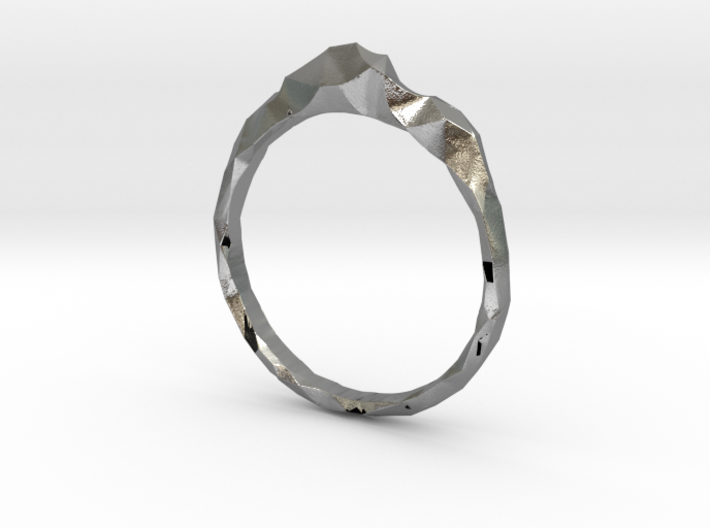 Shard Ring Asymmetrical 3d printed