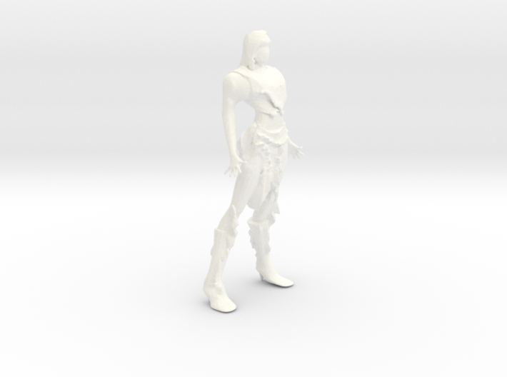RavenFemaleChar 3d printed