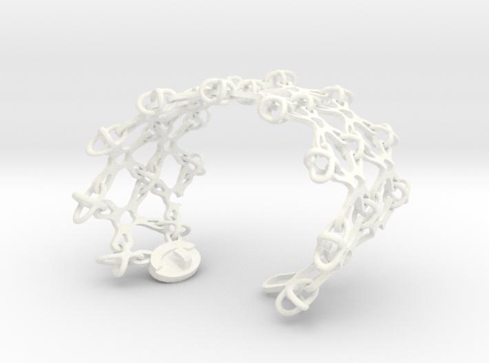 X Brace Wristlet (Sz S) 3d printed