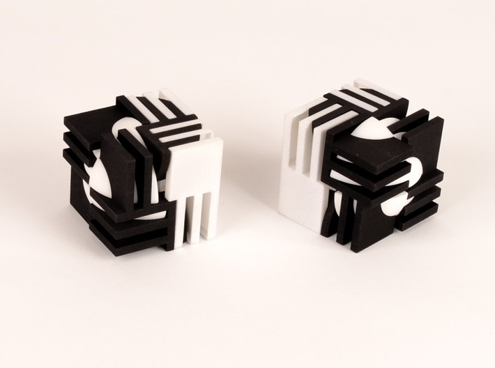 Sphere Version Of Simple Cube Positive 4 Piece 3d printed phantom of the opera