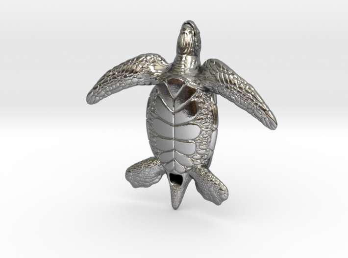 Sea Turtle 3d printed