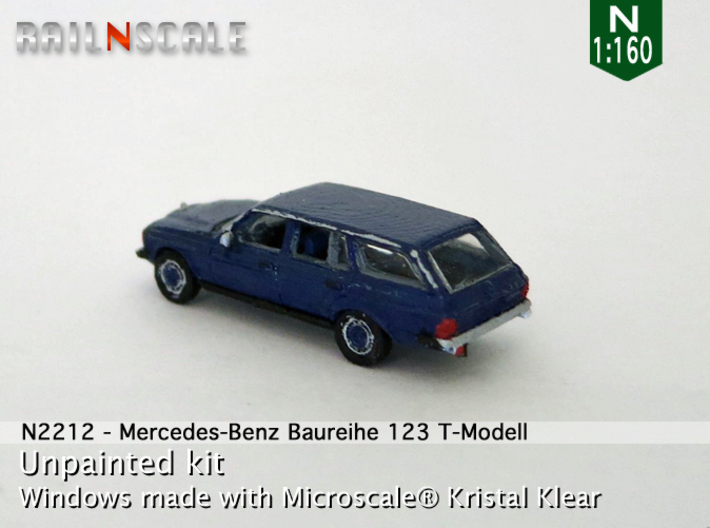 Mercedes-Benz T-Modell (N 1:160) 3d printed