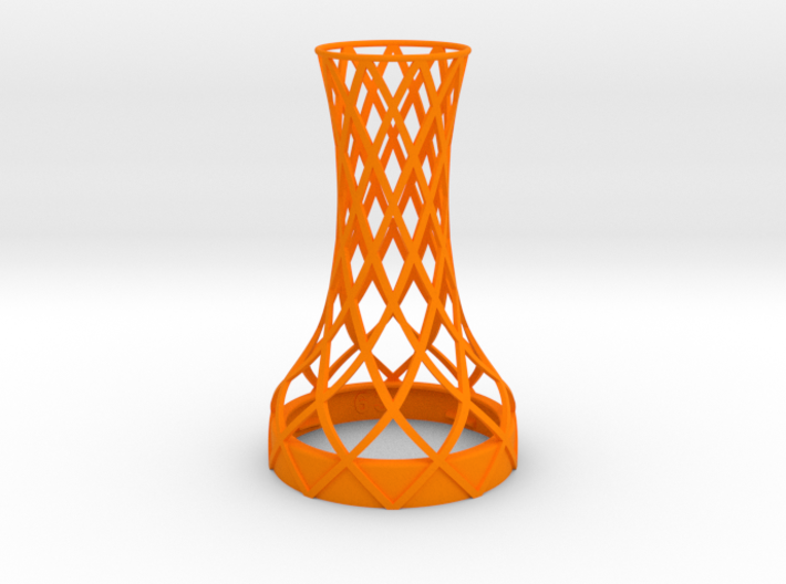 Tower Vase for jar size:63 (4 leads) 3d printed