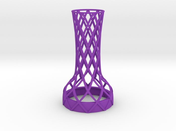 Tower Vase for jar size:58 (4 leads) 3d printed