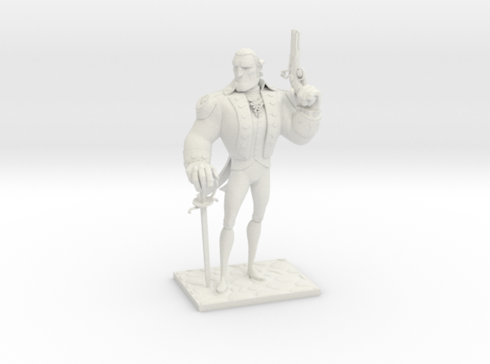TheColonial (Medium) 3d printed