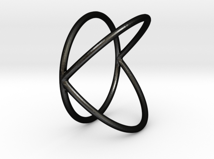 K Ring - Size 11.5 3d printed