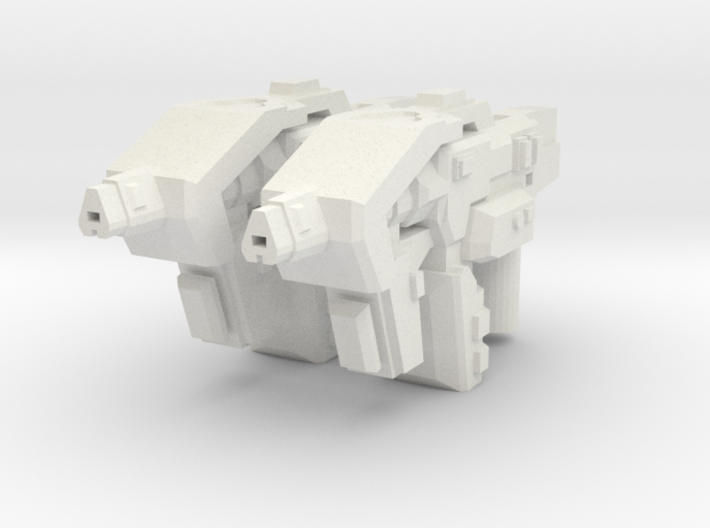 """NOVA"" Transformers Weapons Set (5mm post) 3d printed"