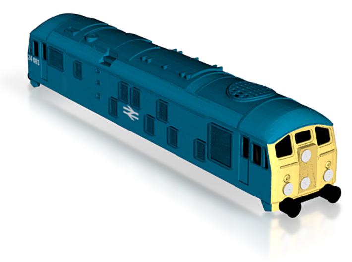 T-Class 24-colour 3d printed