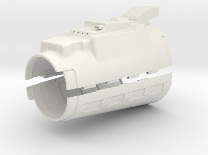 Right Hand Gauntlet ROTJ 3d printed