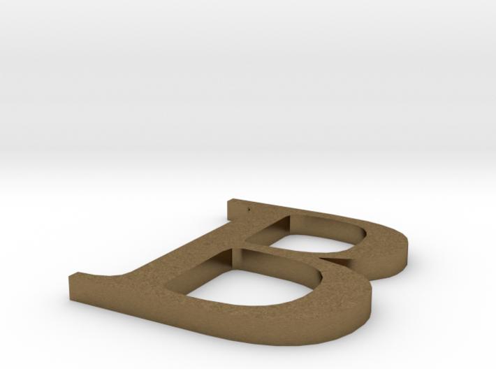 Letter-B 3d printed