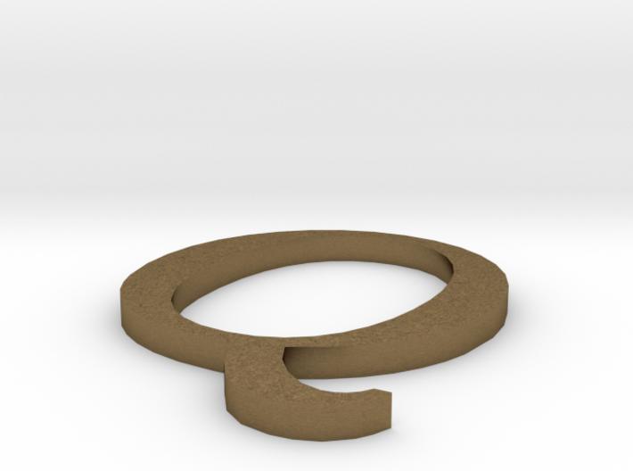 Letter-Q 3d printed
