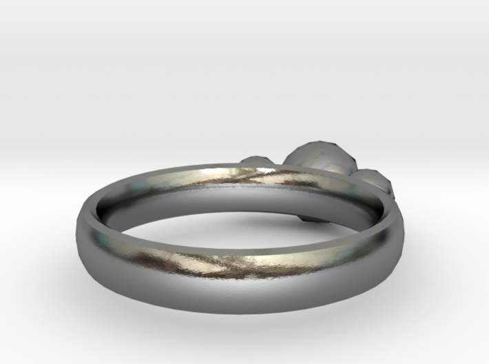 GeoJewel Ring US Size 6 UK Size M 3d printed