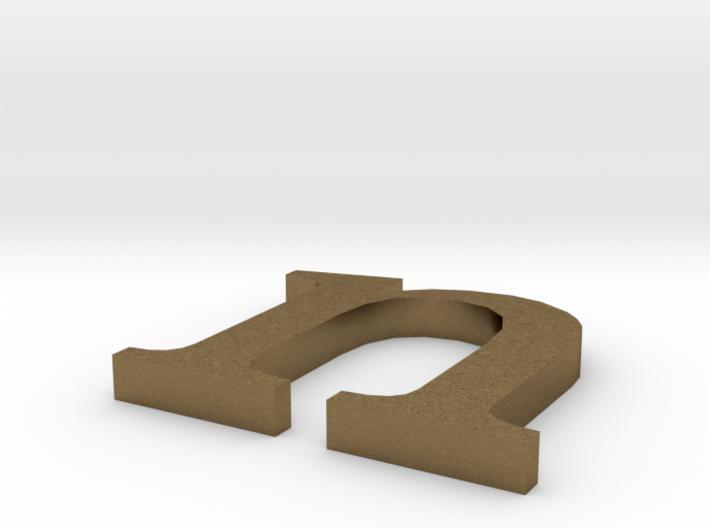 Letter- n 3d printed