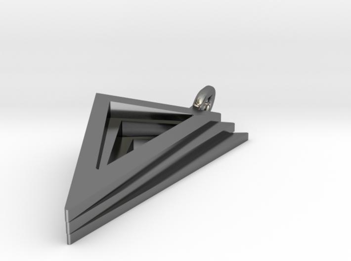 Layers Pendant 3d printed