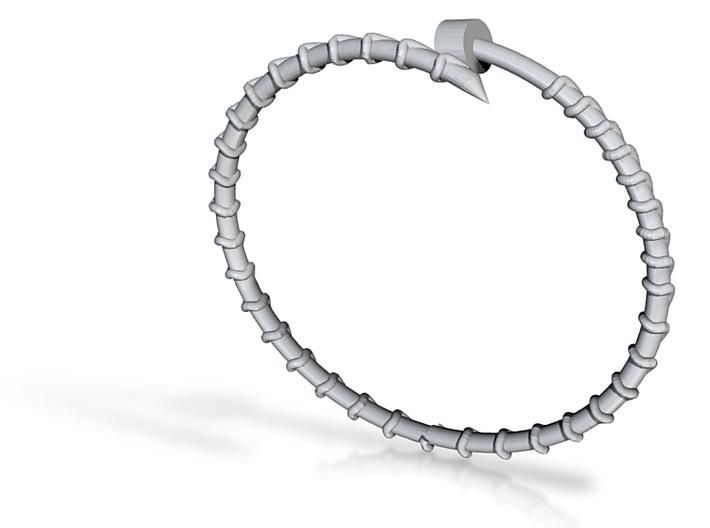 Dainty Screw Bracelet -Small 3d printed