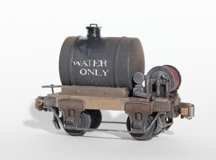 HOn3 water car 3d printed