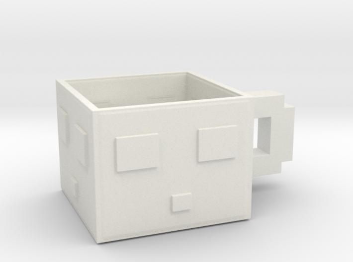 Minecraft Slime Teacup 5.5 Cm 3d printed