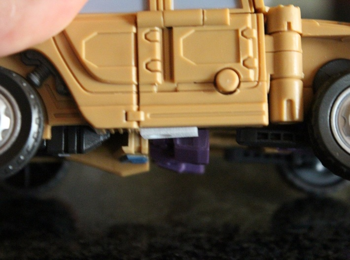 Warbotron WB01-C Canon Shoulder Clip Small 3d printed