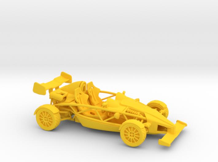 Ariel Atom 1/43 scale RHD w/wings 3d printed