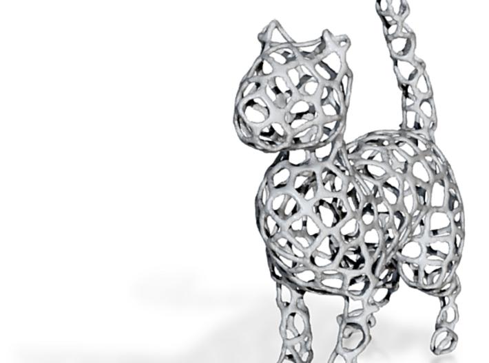 Voronoi Cat 3d printed