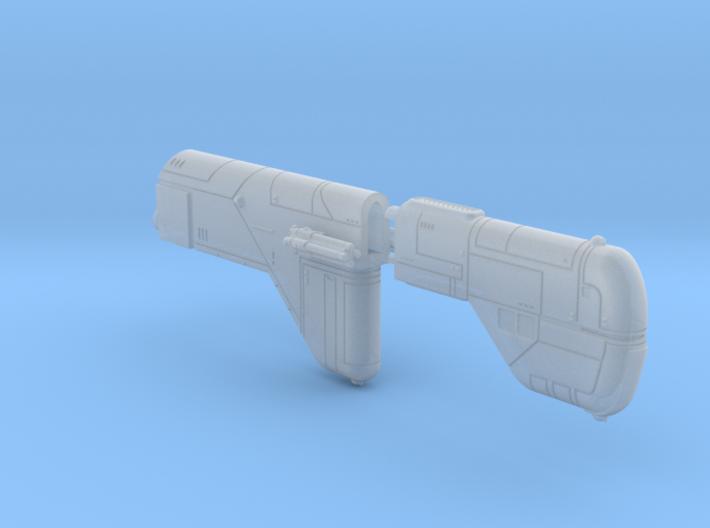Missile Cruiser Multi-Part Kit 3d printed