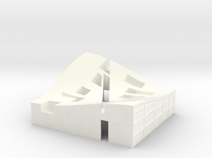 MiniNL Funen(1:500) 3d printed