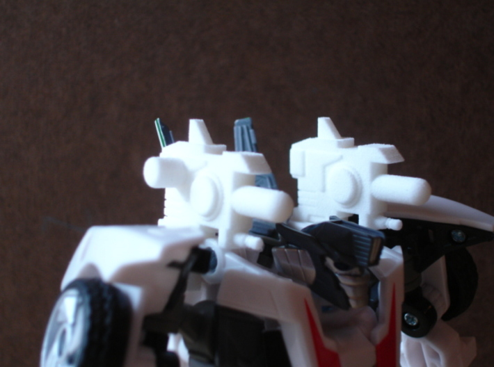 Sunlink - Prime: Wheeljacked Cannons w/ 5mm Side P 3d printed