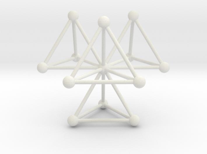 Tetrahedra 3d printed