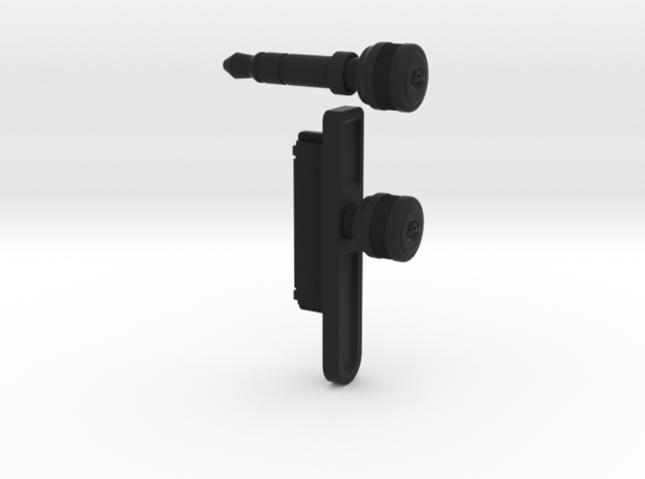 """The iPlug """"Jack"""" and iPlug """"Port"""" 3d printed"""