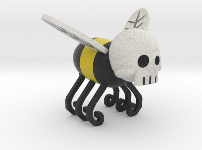 Skull Bee Sand 14 3d printed