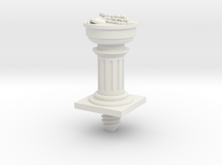 Wine Bottle Stopper of Dionysus 3d printed