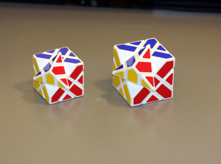 Compy Cube 50mm version 3d printed