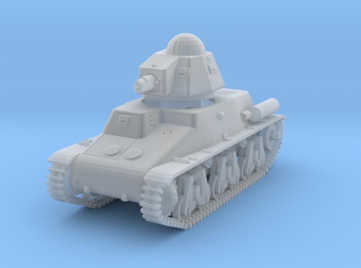 PV44B Hotchkiss H39 w/SA18 (1/100) 3d printed