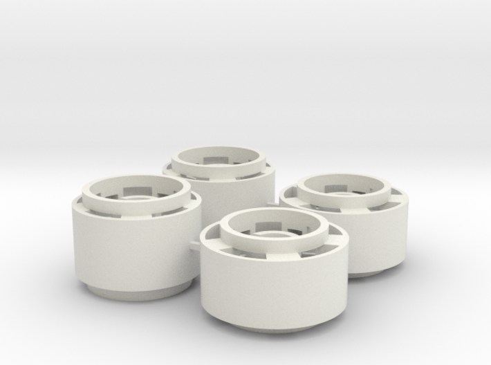 Mini-z F1 Wheelset for BRM rears -2.5mm original o 3d printed
