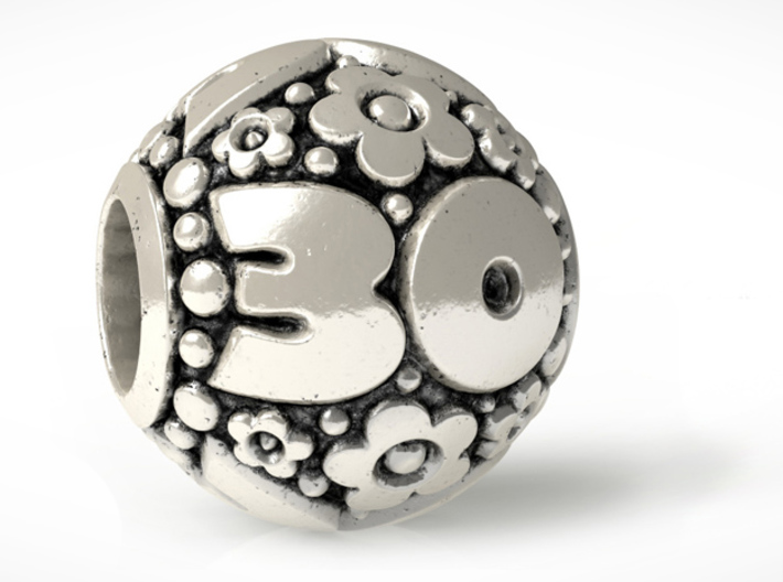 'Pandora' fit Charm 30th 3d printed Final Design Render (Blacking not from print)